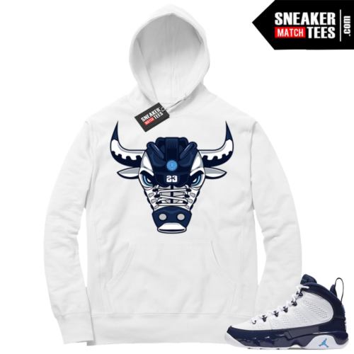 Jordan 9 Pearl Blue Hoodie