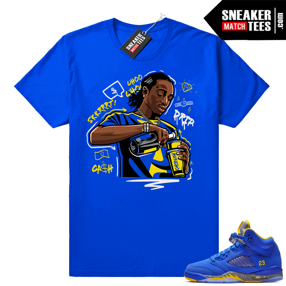 Laney 5 Jordan t-shirts