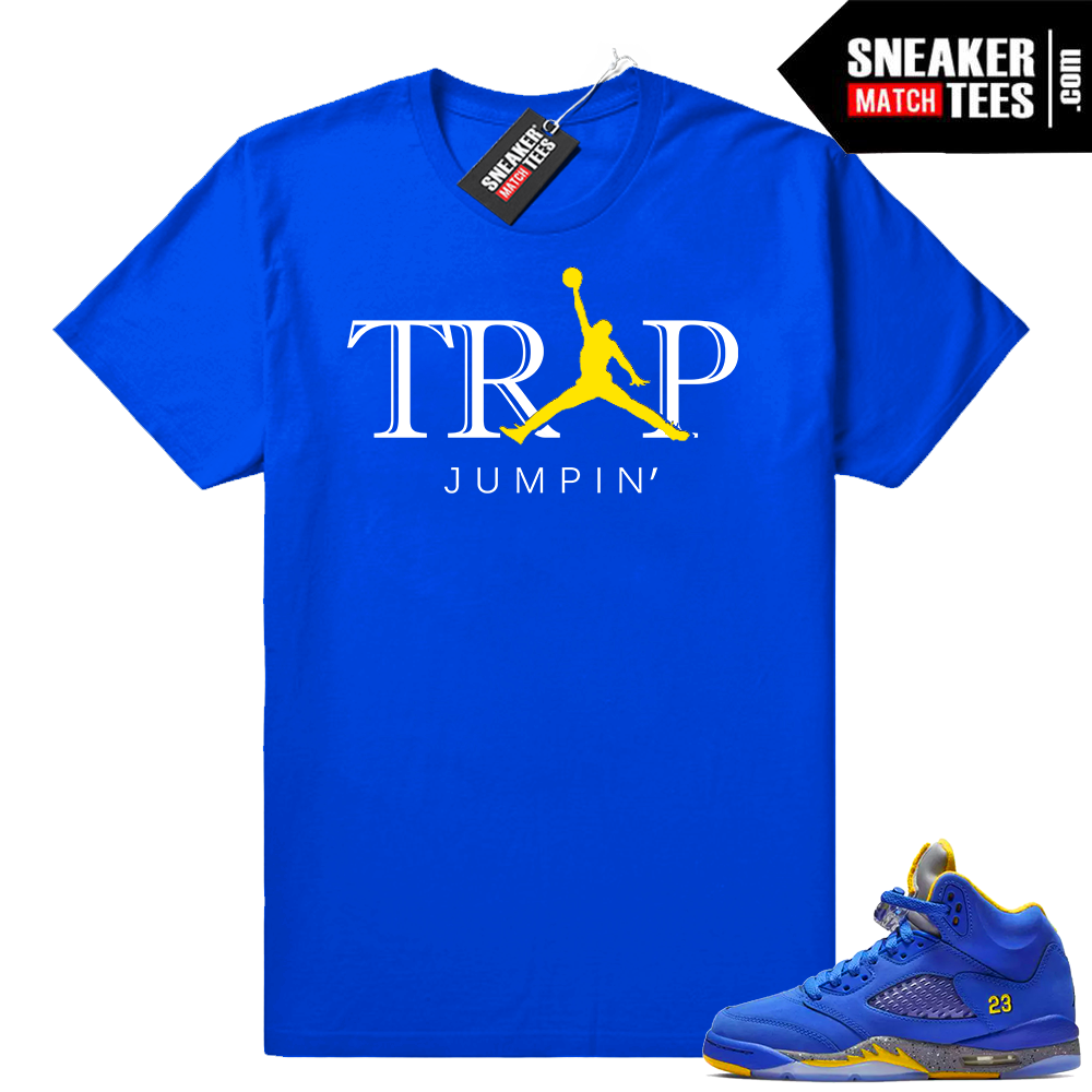 Laney 5 Varsity Royal Shirts