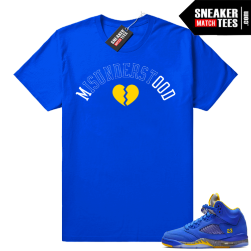 Laney 5s t shirt Royal