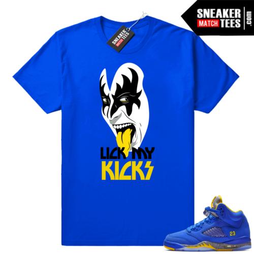 Laney Air Jordan 5 retro shirts