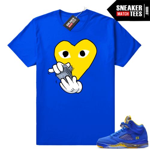 Laney sneaker tee shirts