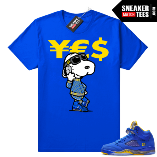 Match Laney 5 Royal t-shirt