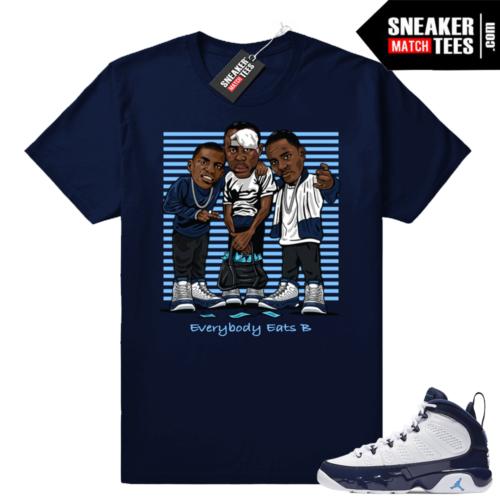 Paid In Full Jordan 9 t-shirt