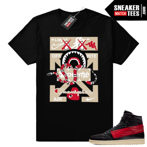 Air Jordan 1 Couture tees