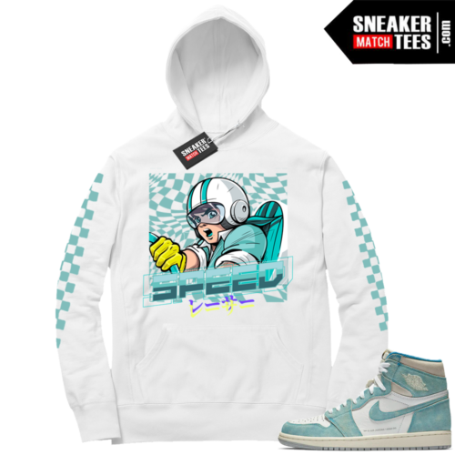 Air Jordan 1 Turbo Green Hoodie