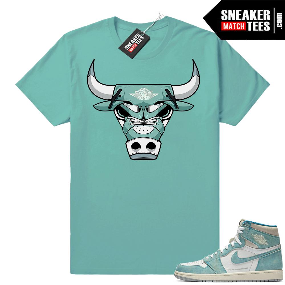 Air Jordan 1 Turbo Green shirts