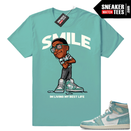 Air Jordan 1 Turbo green sneaker tees
