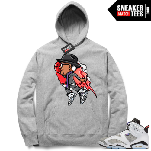 Air Jordan 6 Flint Grey Tinker Flight Hoodie