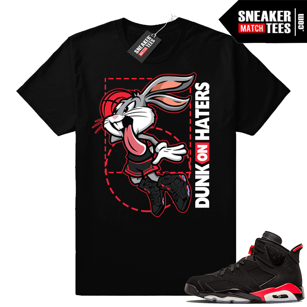 Air Jordan 6 Infrared matching sneaker shirt