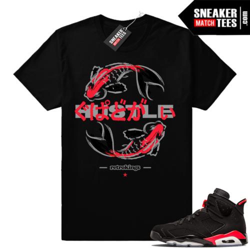 Air Jordan 6 infrared matching shirt