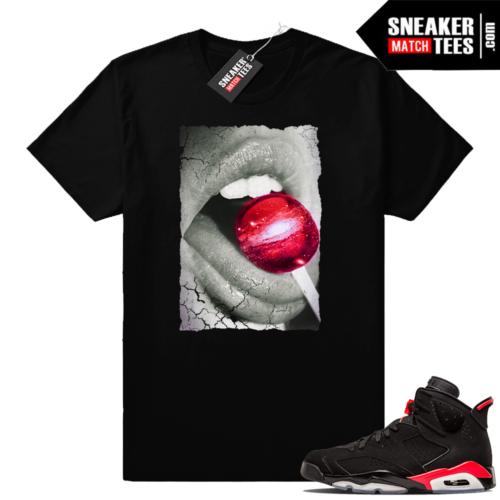 Air Jordan 6 infrared matching sneaker tees