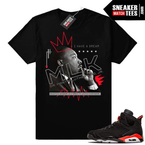 Air Jordan 6 tees infrared