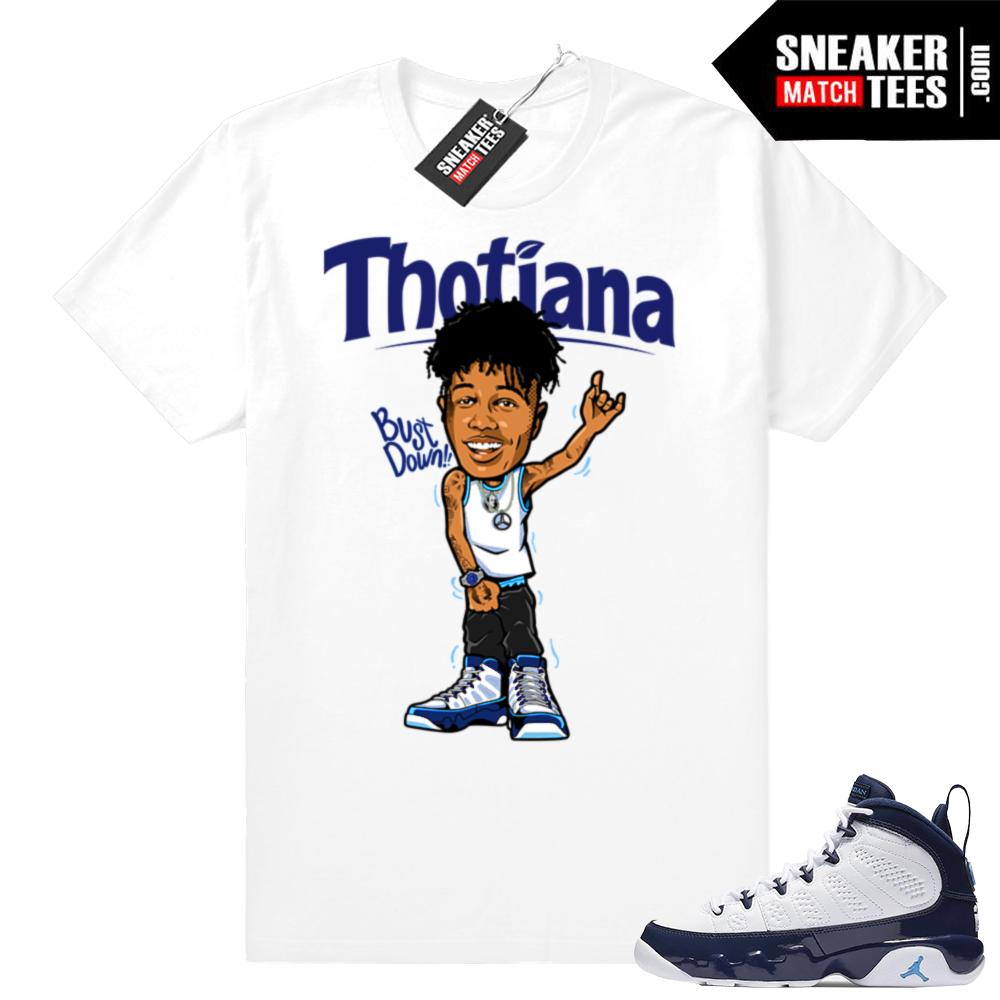 Blue Face Thotiana shirt match | Jordan