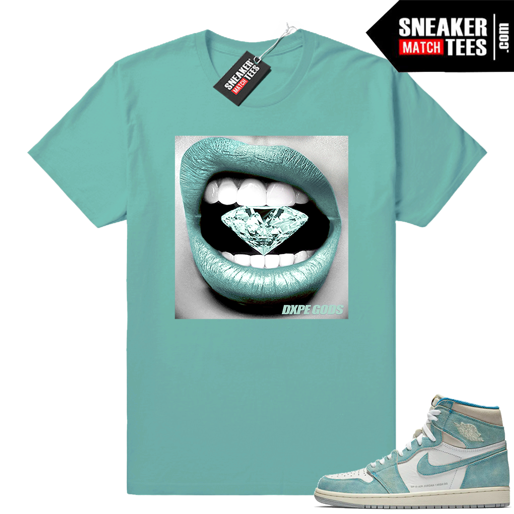 Diamond lips Jordan 1 Turbo Green