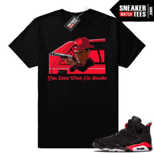 Infrared 6 Sneaker tees No Smoke