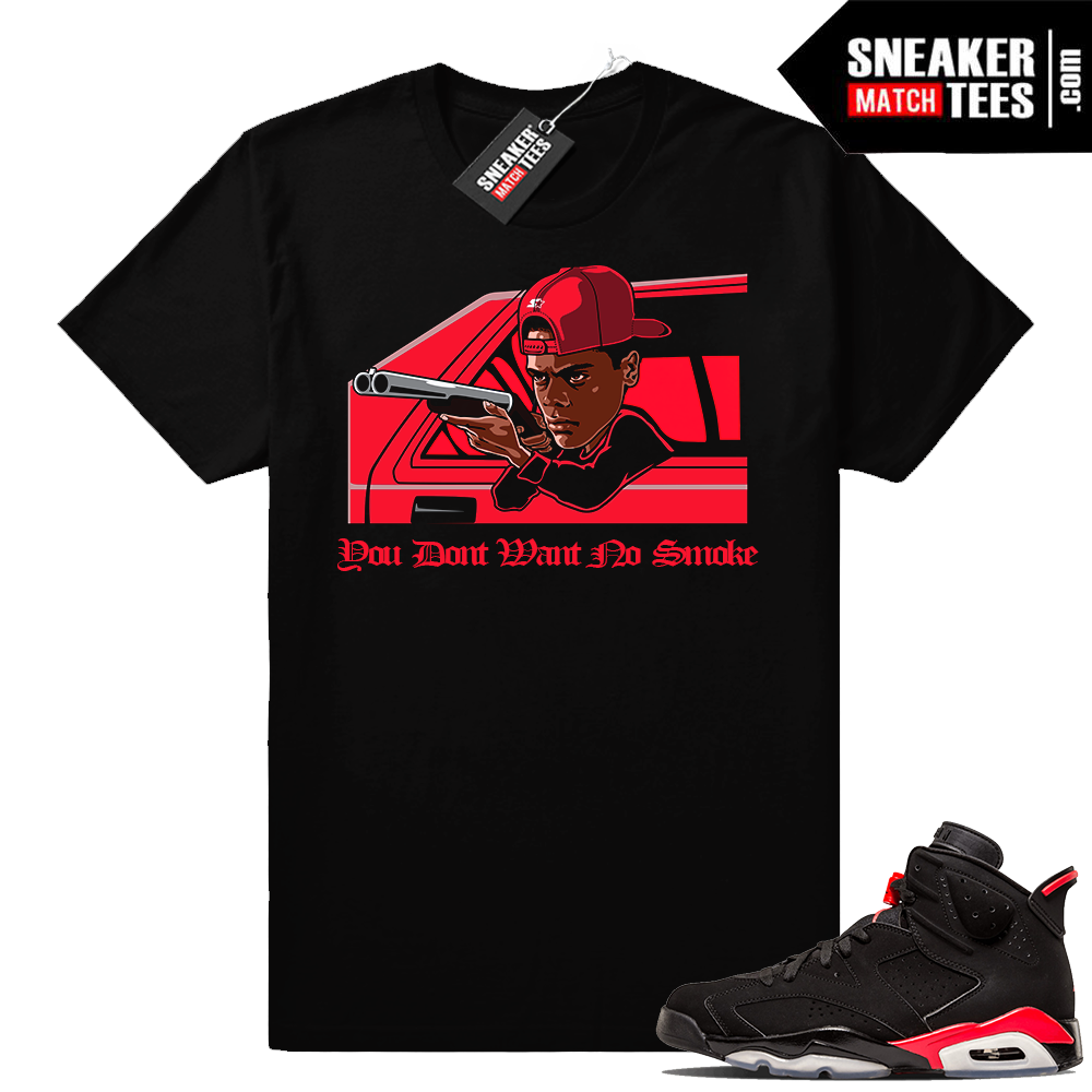 Infrared 6 Sneaker tees No Smoke
