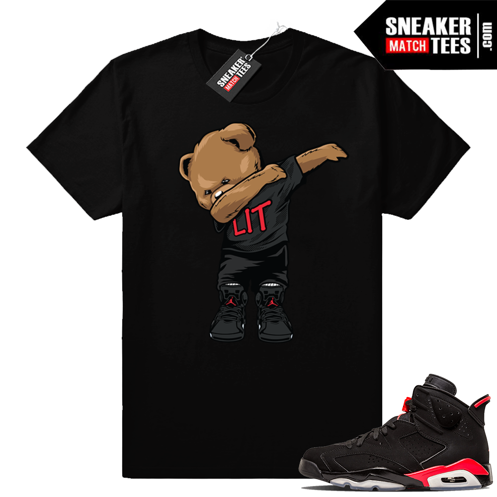 Infrared 6s Dabbin Bear t-shirt