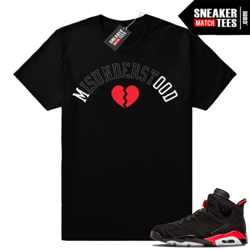 Infrared 6s match sneaker clothing shirts