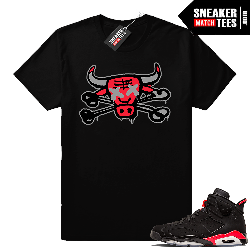 Infrared Jordan 6 t shirt match