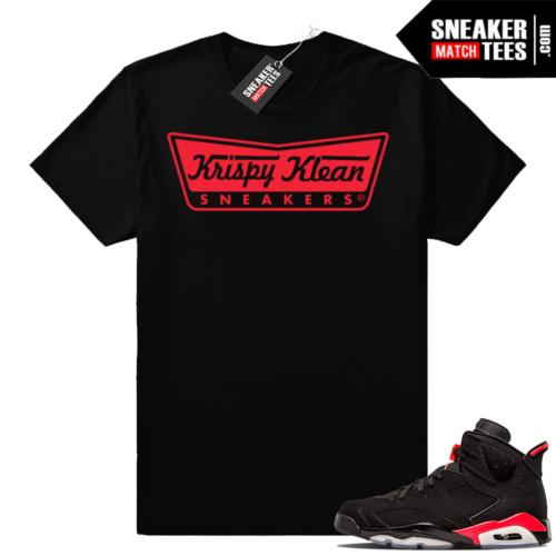 Infrared Jordan retro 6 shirts