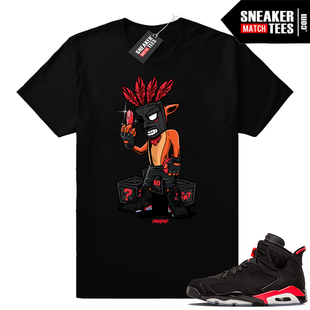 Infrared Jordan shirts match