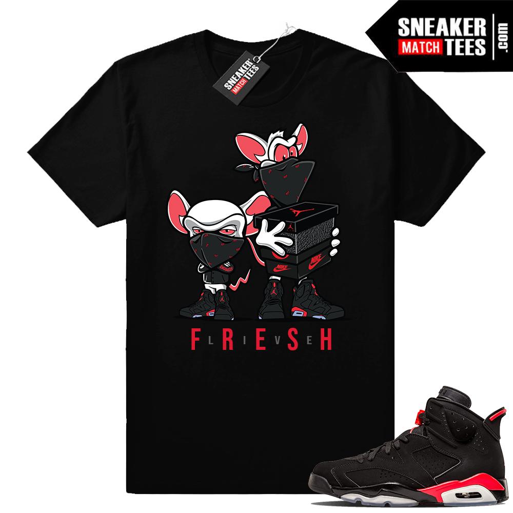 Infrared sneaker tees Jordan 6