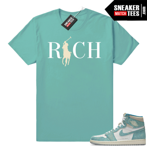 Jordan 1 Shirts Turbo Green