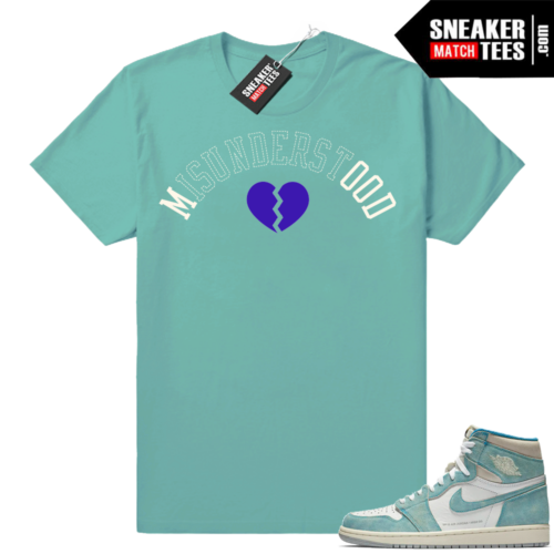 Jordan 1 Turbo Green Misunderstood shirt