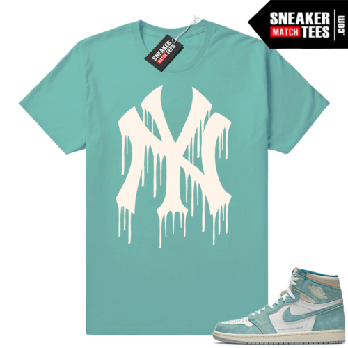 Jordan 1 Turbo Green NY Drip tee