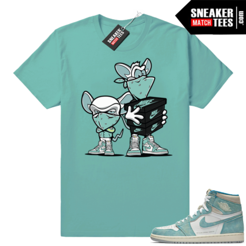 Jordan 1 Turbo green matching shirts