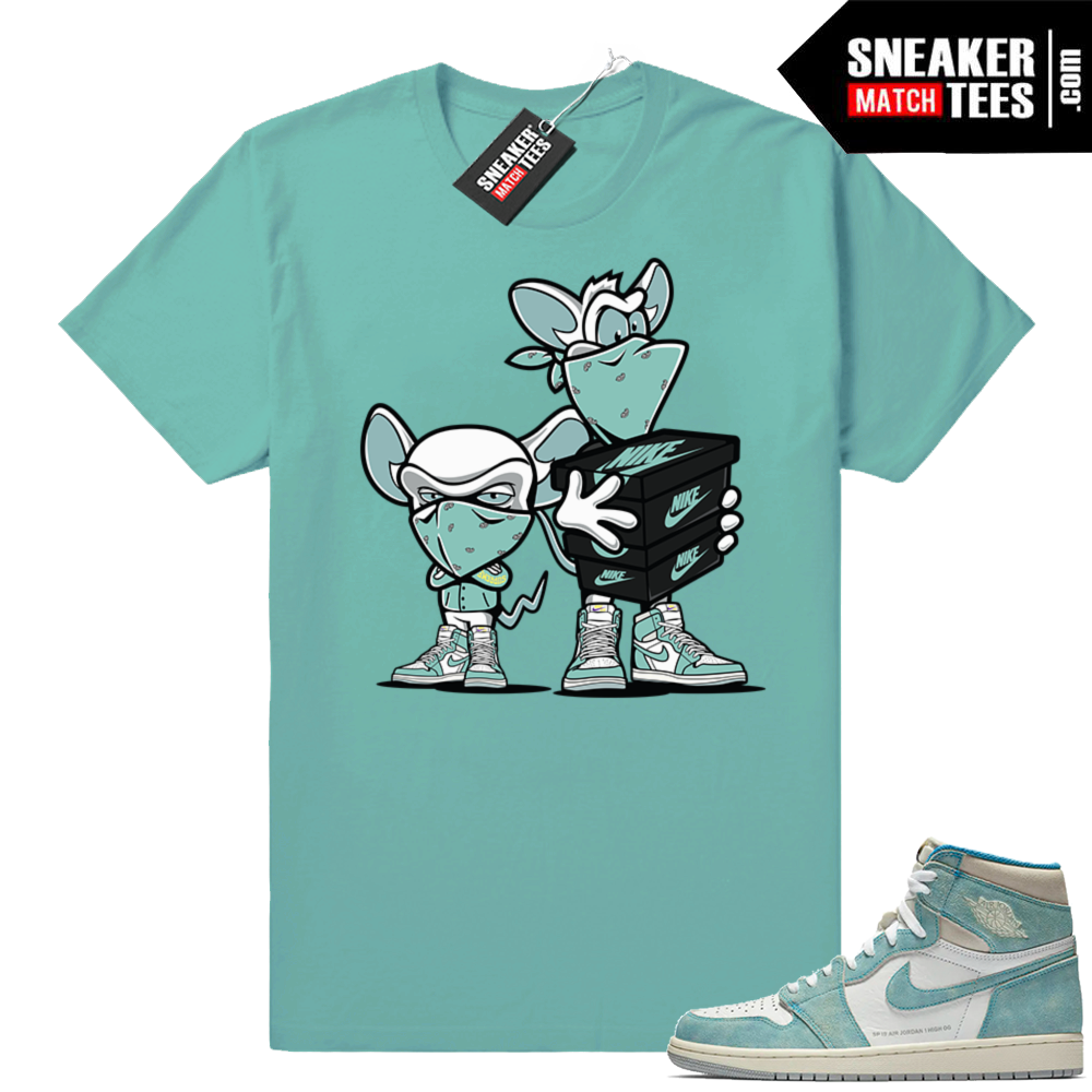 Turbo Green Jordan 1 Jordan Sneaker Match Clothing Shop
