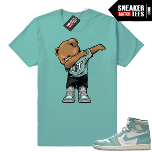 Jordan 1 Turbo green sneaker tees