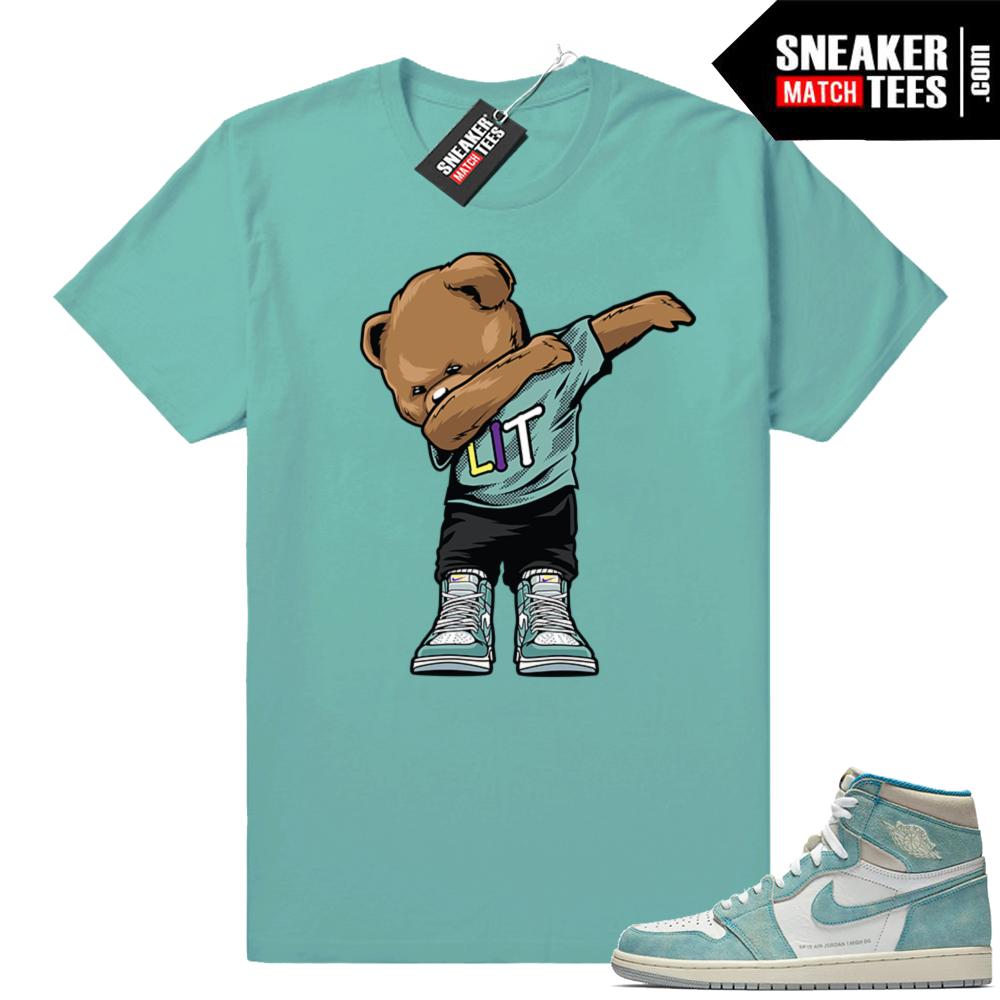 Jordan 1 Turbo green sneaker tees