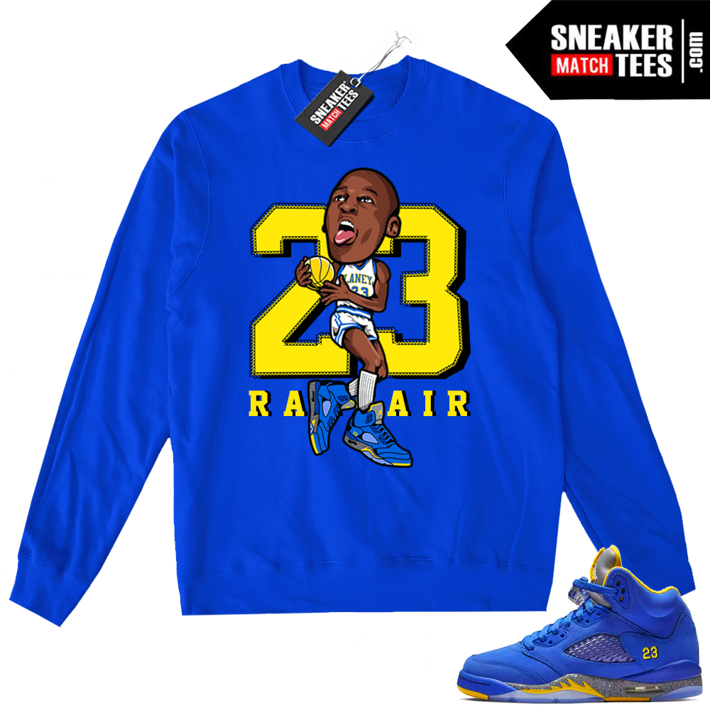 Jordan 5 Laney Highschool MJ sweater