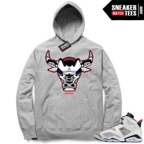 Jordan 6 Flint Grey sneaker hoodie
