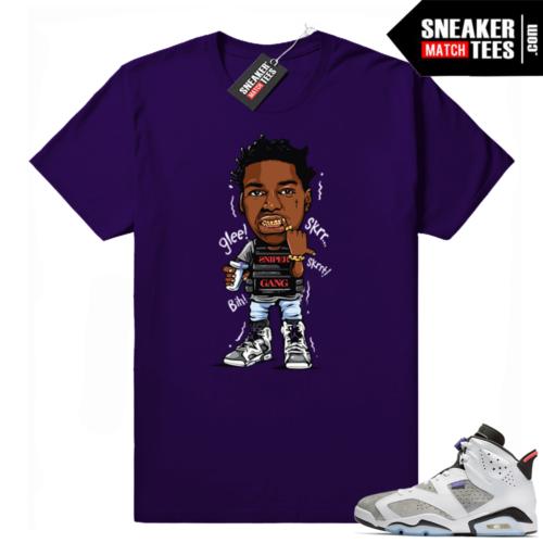 Jordan 6 Flint grey sneaker tees