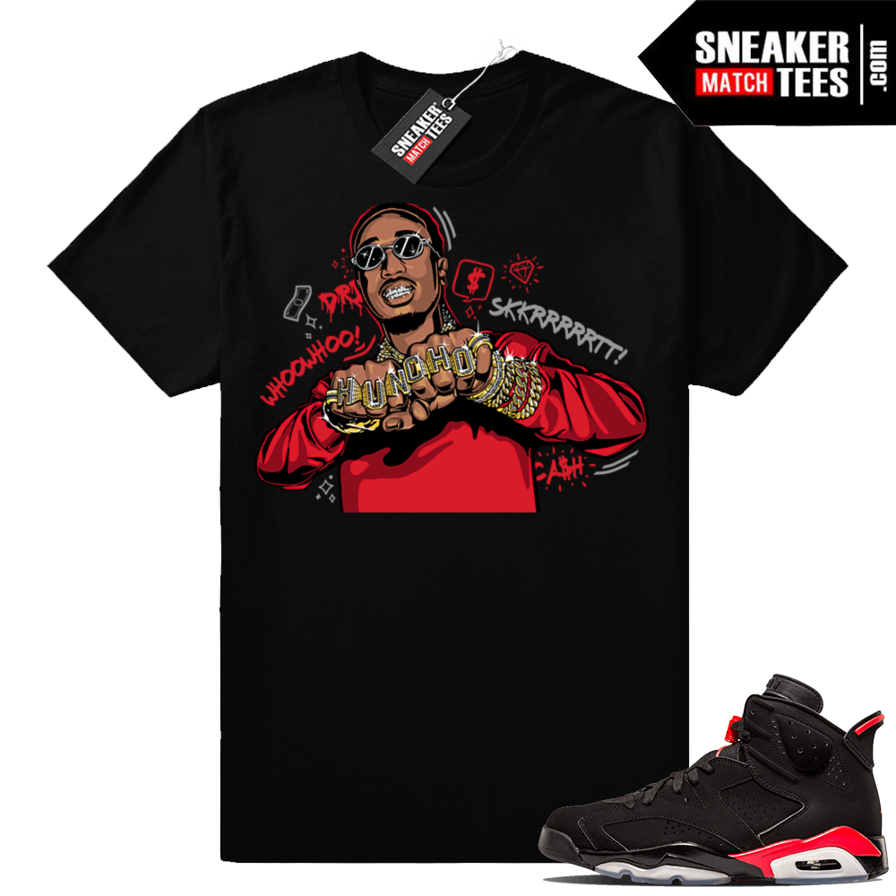 Jordan 6 infrared matching shirts