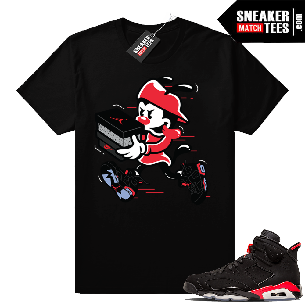 Jordan 6 infrared tee Double up