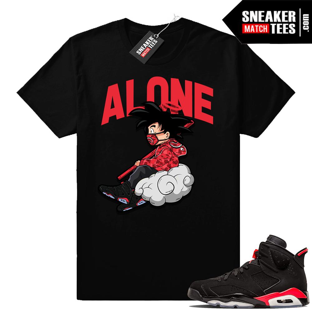 Jordan 6s infrared tee shirts