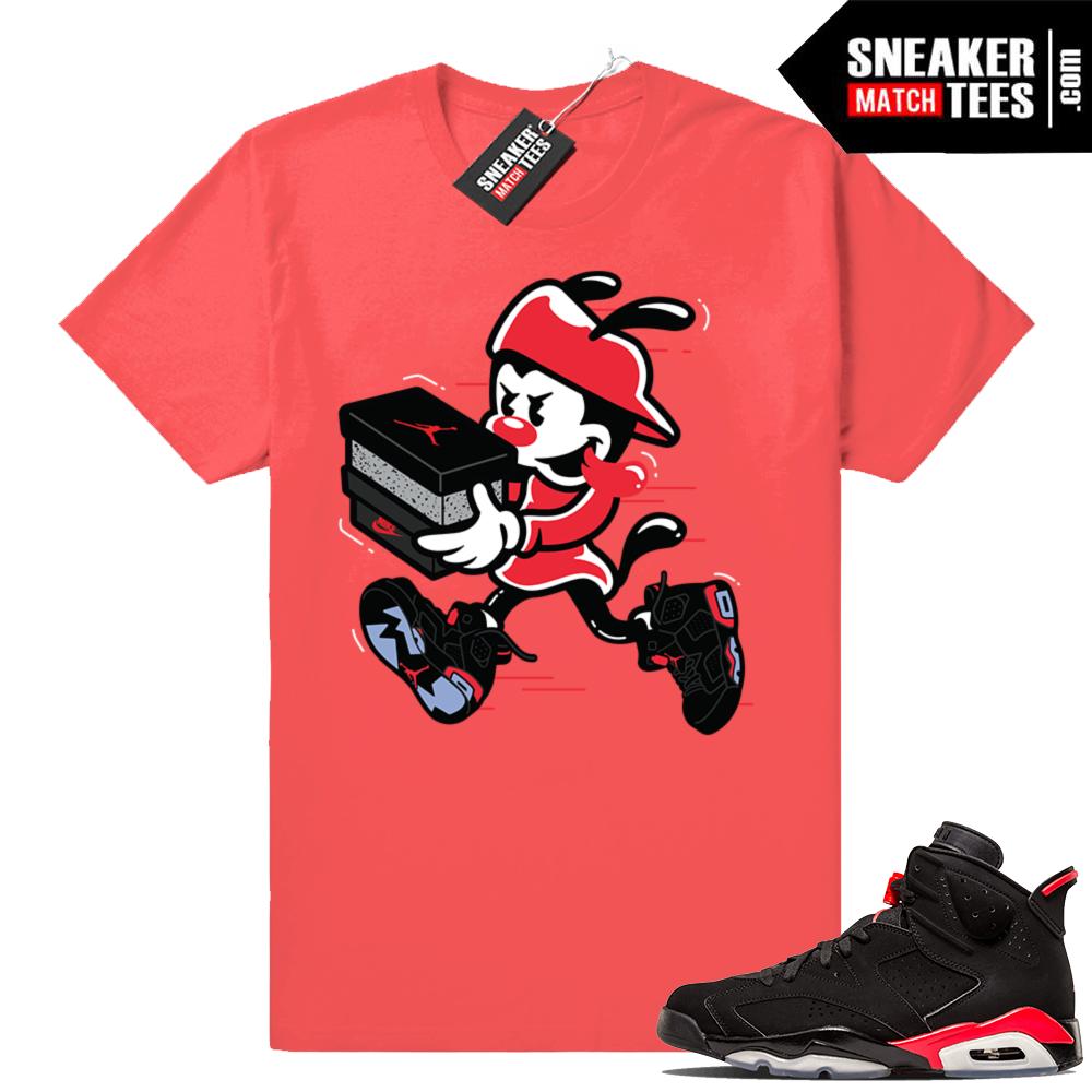 Jordan 6s infrared tees