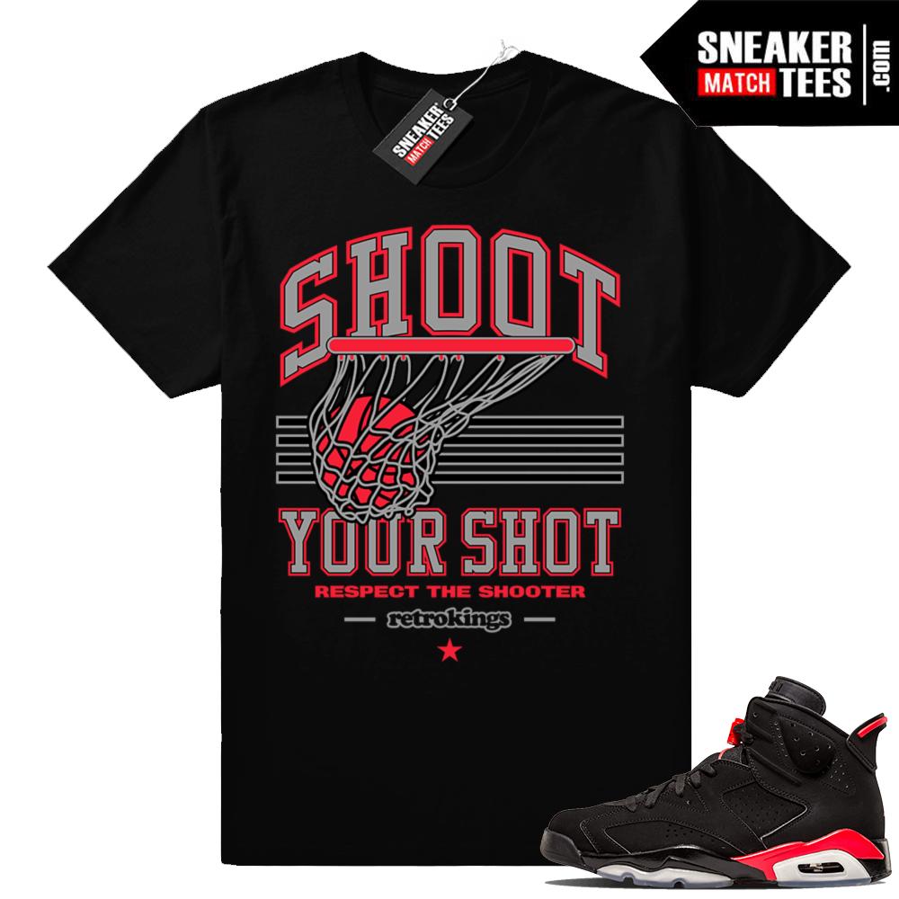 Jordan 6s matching sneaker shirts