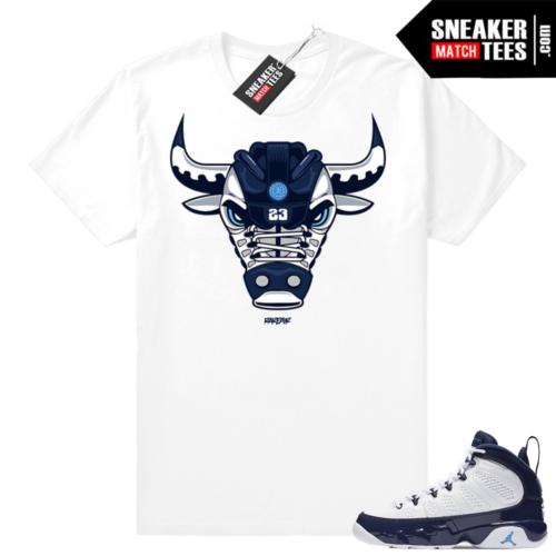 Jordan 9 Blue Pearl t shirt