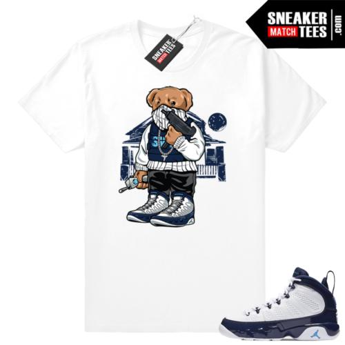 Jordan 9 T-shirt Pearl Blue
