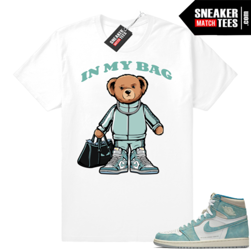 Jordan retro 1 sneaker tees Turbo Green