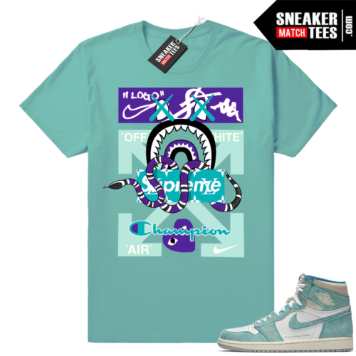 Jordan shirt Turbo Green 1s