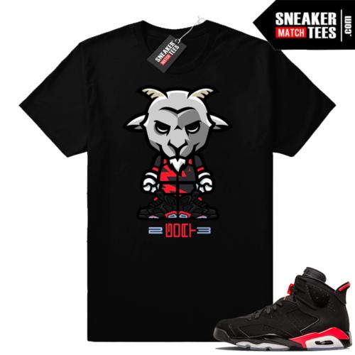 Jordan shirts infrared 6s Black
