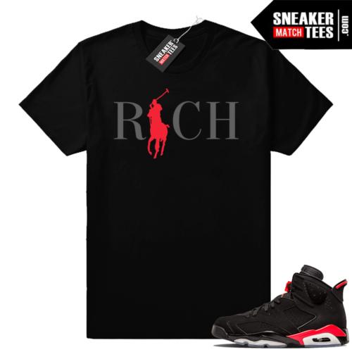 Jordan sneaker tees Infrared 6s