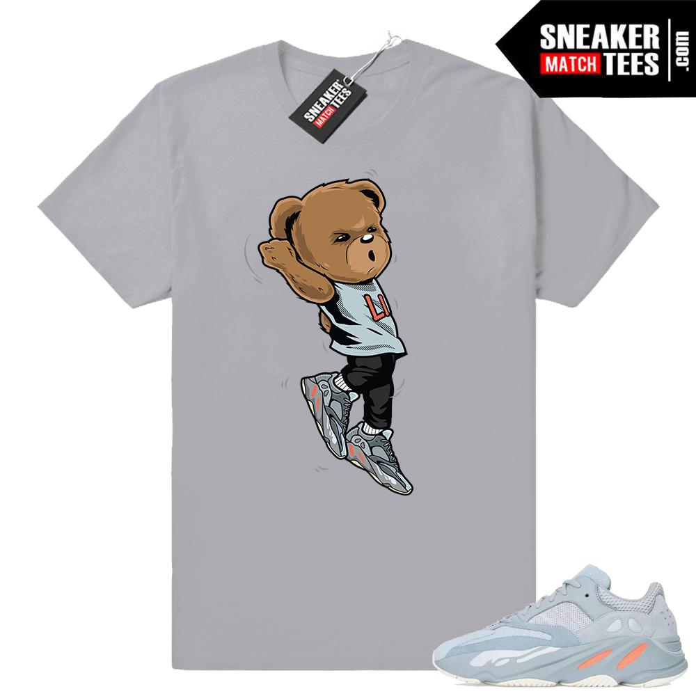 Match Yeezy boost 700 Inertia sneaker tees