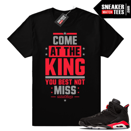 Shirts Black Infrared 6s match